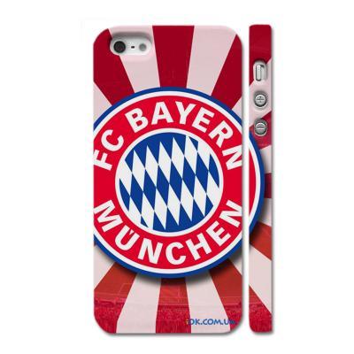 Накладка c логотипом клуба Бавария Мюнхен на Айфон 5