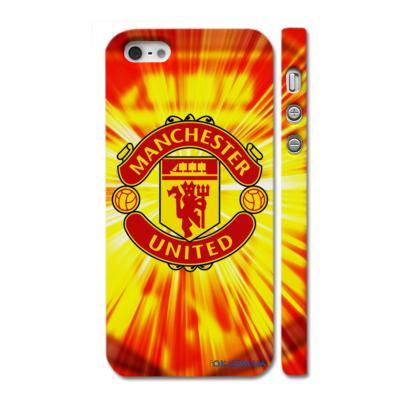 "Чехол c логотипом английского клуба ""Manchester"" на Айфон 5"
