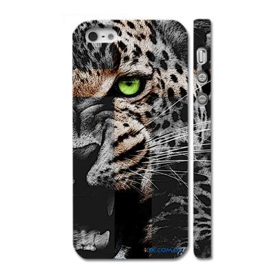 Стильная накладка на Айфон 5, Улыбка леопарда