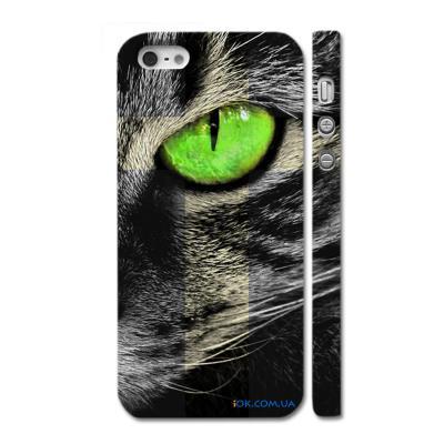 Стильный чехол на Айфон 5, Кошачий глаз