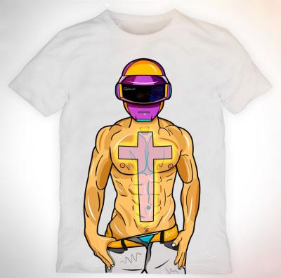 Стильная молодежная футболка в стиле Сваг от художника Gruf