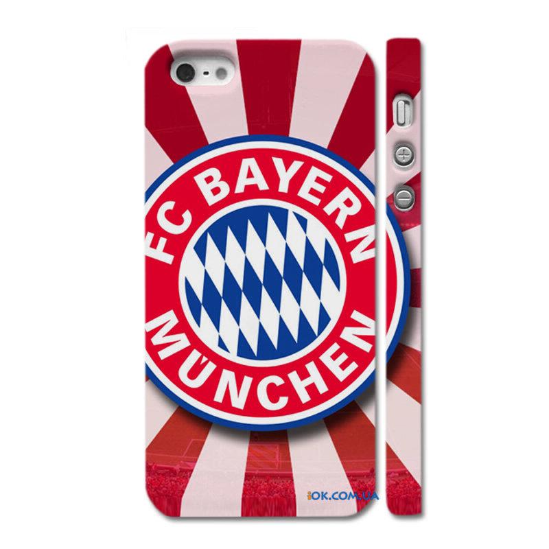 Чехол на айфон 5с футбольный клуб бавария