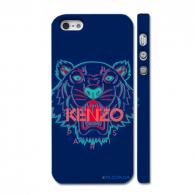 Стильный чехол Kenzo на Айфон 5, синий