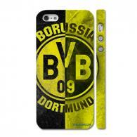 Оригинальный чехол c логотипом «Бору́ссия До́ртмунд» на Айфон 5