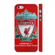 "Чехол c логотипом футбольного клуба ""Liverpool"" на Айфон 5"
