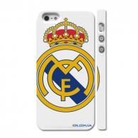 Оригинальный чехол c логотипом королевского футбольного клуба на Айфон 5
