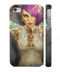 Swage чехол для iPhone 4, 4S с дизайном Фаб Кираоло