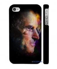 Классный чехол с фото Стива Джобса для iPhone 4, 4S