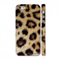Яркий чехол на iPhone 5, животный принт
