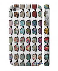 Купить стильный чехол для iPhone 4, 4S  дизайн из очков