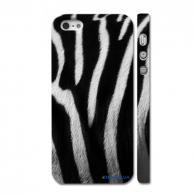 Оригинальный скин на iPhone 5, принт - зебра