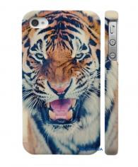 Купить Swage накладку для iPhone 4, 4S  тигр