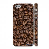 Пластиковый чехол для iPhone 5, кофейные зерна