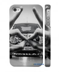 Swage накладка для iPhone 4, 4S  крутой автомобиль