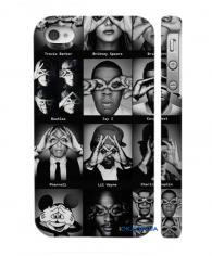 Чехол для iPhone 4, 4S стильный дизайн