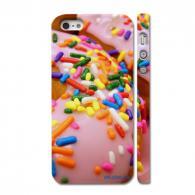 Прикольный кейс на Айфон 5, радужный десерт