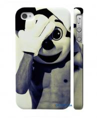 Купить оригинальный кейс на Айфон 4, 4С Маска Микки