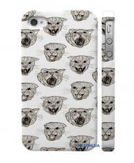 Купить стильный кейс на Айфон 4, 4С  Кошки
